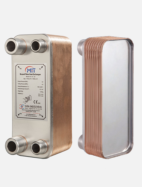 MB - 01 Model Brazed Heat Exchanger